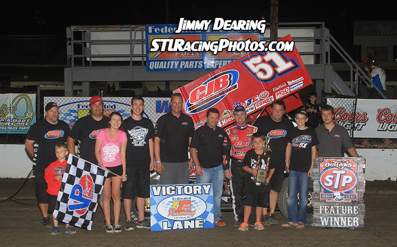 August 1st, 2014: Paul McMahan Holds off Kerry Madsen to Win Red Flag Delayed Prelude to the Ironman