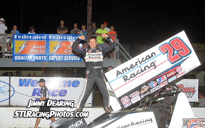 August 2nd, 2014: Kerry Madsen Holds off Donny Schatz to Win the Federated Auto Parts Ironman 55 presented by Walker