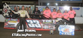 August 9th, 2014: Tim Manville, Mark Miner, Troy Medley & Dallas Lugge take Federated Auto Parts Raceway at I-55 wins on Laura Jones-Jumper Memorial Night!